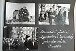 Igor Kozelek z krnovské radnice v roce 1972 jako jedenáctiletý pionýr stál čestnou stráž u nárazníku darované lokomotivy.