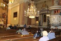 Kostela svatého archanděla Michaela ve Vrbně pod Pradědem.