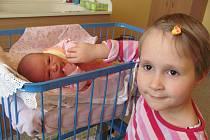 Markétka Holinková se narodila 30.ledna 2012, při narození vážila 3310 gramů a měřila 49 centimetrů, maminkou se stala Monika Holinková a tatínkem se stal Jan Holinka, na fotce je Markétka se svojí sestřičkou Verunkou, Krnov