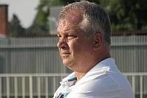 Antnín Hudský, krnovský fotbalový trenér.