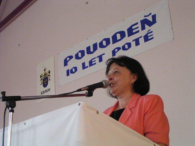 Konferenci zahájila starostka Krnova Renata Ramazanová.