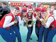 Díky podpoře města mohl Dechový orchestr mladých Krnov opět po roce reprezentovat Krnov a Českou republiku v Číně.