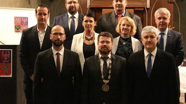 Před dvěma lety byl zvolen starostou Krnova Tomáš Hradil. Zdroj: MěÚ Krnov