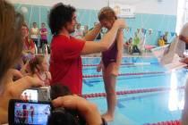 V bruntálském Wellness Centru probíhal jubilejní 10. ročník mezinárodního závodu Grand Prix Bruntál v plaveckém pětiboji.