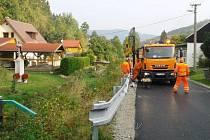 Petrovice si mohou oddechnout. Dopravní komplikace skončily, silnice má nový povrch.