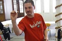 Člen výboru KŠL David Sicilský.