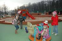 Největší radost z parku v Prudniku mají děti.