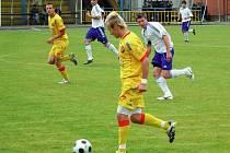 Dalším zápasem pokračují o víkendu také fotbalisté Jiskry Rýmařov.