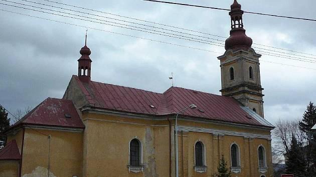 Kostel sv. Benedikta v Krnově – Kostelci.