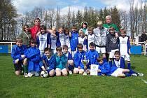 Výběr Okresního fotbalového svazu Bruntál zvítězil na krajském Danone Cupu a postoupil do republikového finále.