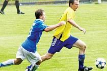 Tomáš Šupák patří k nejlepším kanonýrům krnovského fotbalového klubu