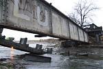 Železniční most Miluji Pepu byl poslední vzpomínkou na trať z Krnova do Hlubčic. Byl zbourán kolem roku 2010.