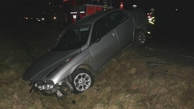 K této nehodě došlo v pondělí mezi obcemi Úvalno a Krnov.