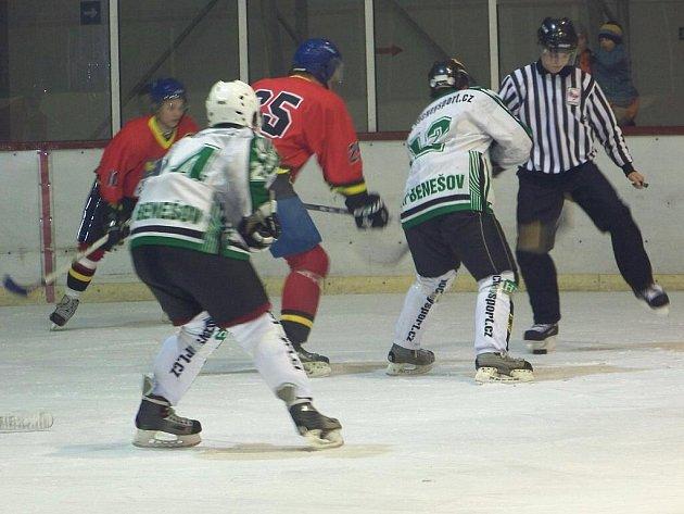 Hornobenešovští hokejisté uštědřili v sobotu 14. listopadu Kopřivnici těsnou porážku 4:3.