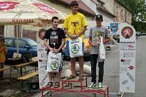 Radek Panáč, minikárista bruntálské Olympie opět vybojoval stupně vítězů, skončil třetí.