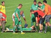První zápas sezony mezi Krnovem a Petřkovicemi provázelo zranění.