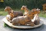 Zvířaty všeho druhu se to v Pradědově Galerii U Halouzků v Jiříkově jen hemží.