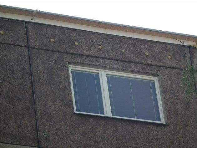 Inspektoři zjistili, že na budovách jsou montážní pěnou nebo stavebním materiálem vyplněny podstřešní ventilační otvory, užívané rorýsy khnízdění.