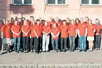 """Zaměstnanci Městského úřadu v Krnově se 21. září připojili k celoevropské kampani Evropský týden mobility. Zapojili se do akce """"Na úřad bez auta""""."""