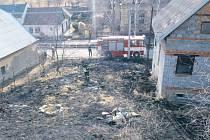 Do Svobodných Heřmanic byli nuceni o víkendu hasiči vyjet k zásahu hned dvakrát.