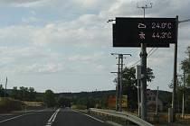 Rozdíl mezi teplotou vzduchu a asfaltu může být až dvojnásobný. Jde o informaci, která může být zajímavá nejen pro řidiče.