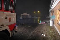 Výbuch tlakové láhve s propan-butanem poškodil dům na ulici 8. května v Rýmařově a zranil jeho dva obyvatele. K neštěstí došlo v pondělí 7. prosince 2009.