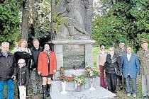 Liptaňskou tragédii si po 79 letech připomněli zástupci Československé obce legionářské a Českého svazu bojovníků za svobodu z Bruntálu a z Opavy.