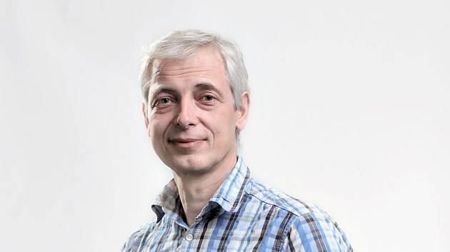Krnovský rodák, fotograf a novinář Tomáš Vocelka z Krnova.