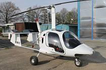 Vírník, létající stroj, který připomíná vrtulník, ale blíže má k letadlům. Ilustrační fotografie