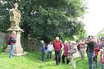 Barokní křížová cesta v Rudě nedaleko Rýmařova je jednou z nejvzácnějších památek v okrese zasazených přímo do krajiny.