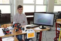 Střední průmyslová škola a Obchodní akademie Bruntál uspořádala veletrh maturitních prací.