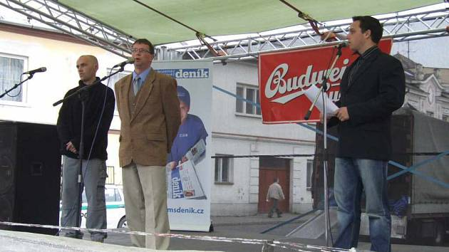 Redaktor Deníku zpovídal starostu Města Albrechtic.
