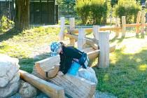 Vodoteč tak se jmenuje zajímavůstka, kterou se mohou pokochat turisté v Karlovicích.