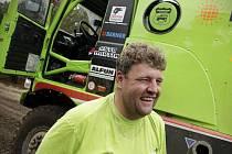 Jezdec Martin Kolomý z bruntálského Czech Dakar Teamu.