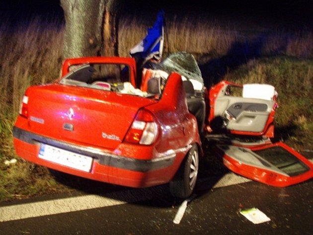 Tragická nehoda u Rýmařova.