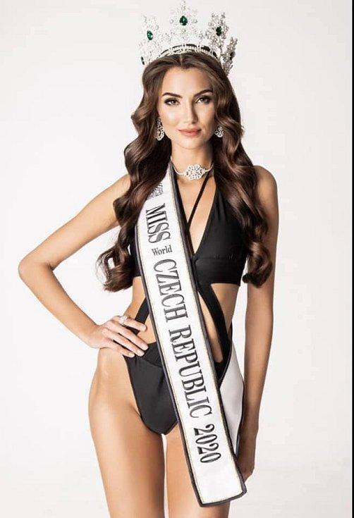 Karolína Kopíncová z Vrbna je nová Miss Czech Republic.