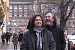 Lovci Nedvědů, to jsou Krnované Marcel Stanovský a Kamil David Opršal.