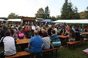 Festival Rockem proti přehradě v Nových Heřminovech.