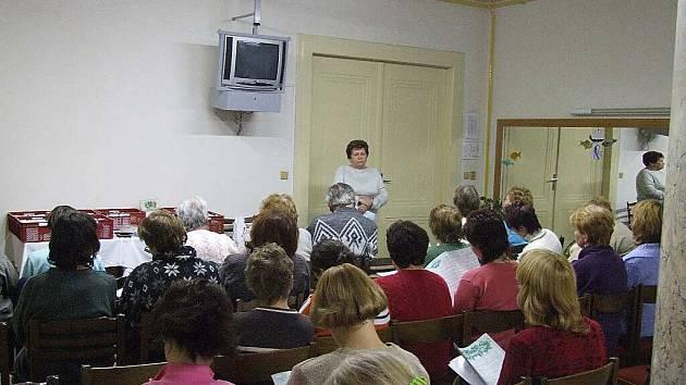 Jarmila Podhorná přijede přednášet do Krnova už podruhé.