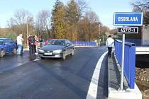 Nový most přišel investora na dvacet tři milionů pět set čtyřicet tisíc korun.