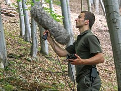 Ondřej Belfín studuje lejska malého už pět let. V Jeseníkách zdokumentoval dvanáct typů zpěvu a objevil i jeden nový, který ornitologové dosud neznali.