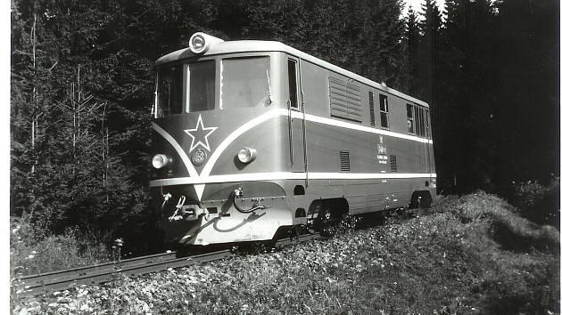 Lokomotivy řady T47.0 na osoblažské úzkokolejce jezdí přes padesát let. Ilustrační foto.