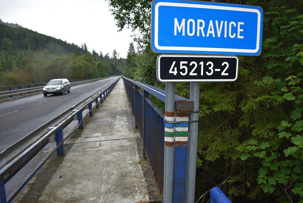 Aktuální stav toků na Bruntálsku, pondělí 29. června 2020.