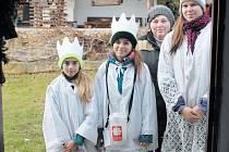 Na Osoblažsku dnes koledují děti spolu s Marií Kubínovou-Vendolskou, která Tři krále doprovází.