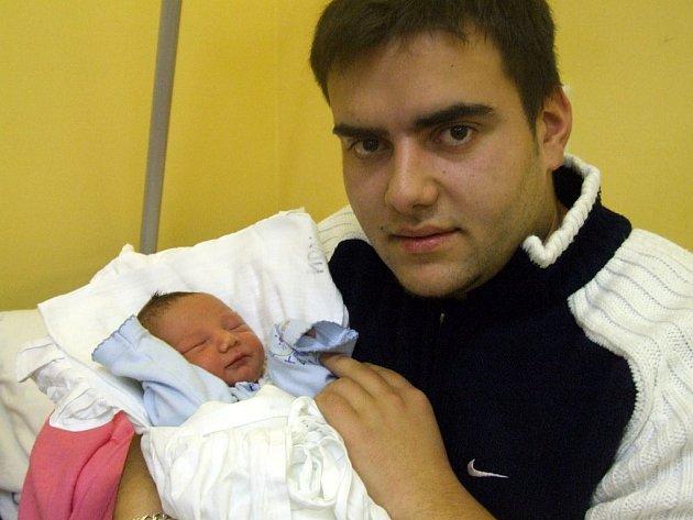 Romeo Vlačuha se narodil 14. ledna, vážil 3 kg a měřil 48 cm.