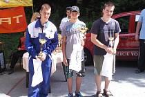 Radek Panáč (uprostřed). Ilustrační foto.