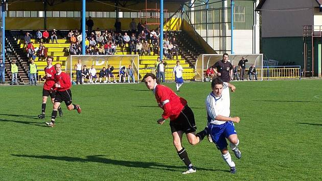 Fotbalisté Jiskry Rýmařov hráli pěkně i v Bohumíně, ale bez střílení branek to do budoucna nepůjde.