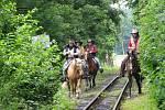 Fajné léto na osoblažské úzkokolejce slibuje 13. července dvě parní lokomotivy místo jedné a přepadení vlaku desperáty ve westernovém stylu.