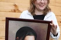 Ilona Strnadová a její oblíbený portrétní motiv. Tím není nikdo jiný než její dcera Jana.