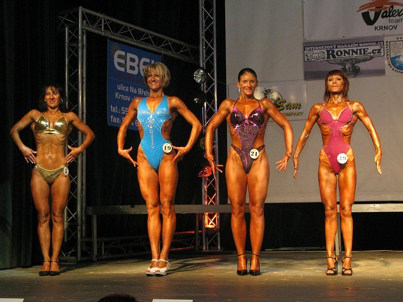 O svaly v Krnově nebyla nouze. Grand prix Jalex Krnov 2008 byl prvním dílem z celostátního seriálu.
